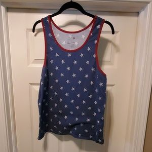 USA - Star Covered Tank Top
